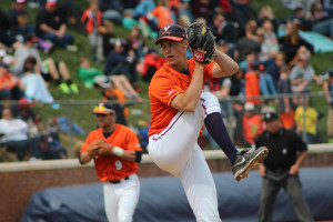 Virginia's Kyle Crockett is one of nine ACC players on the Golden Spikes midseason watch list.