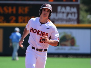 Virginia Tech's Andrew Rash was ACC Player of the Week after batting .545 against Virginia.