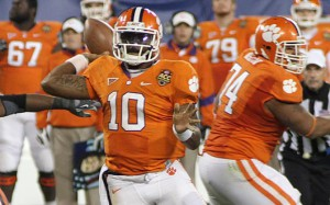 Clemson and Tajh Boyd will open the 2013 season against Georgia.