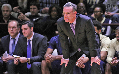 Jamie Dixon will no longer prowl the sidelines for Pitt.