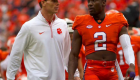 Defensive coordinator Brent Venables will be ready for UNC.
