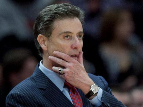 Rick Pitino hopes winning will mask the embarrassment of NCAA sanctions.